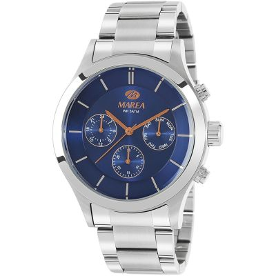 Gents Marea  Steel Multifunction Watch B54149/3