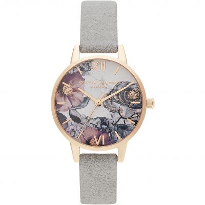 Zegarek damski Olivia Burton Eco Friendly Grey & Rose Gold OB16VM24