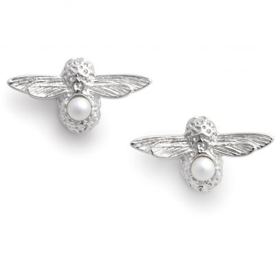 Joyería para Mujer Olivia Burton Jewellery Celebration Bee Studs & Pearl Earrings OBJAME115