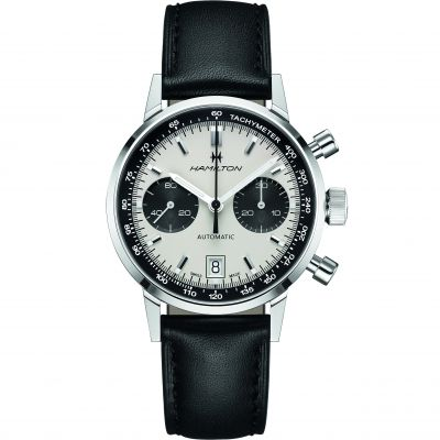 Hamilton Intramatic Intramatic Herrenchronograph in Schwarz H38416711