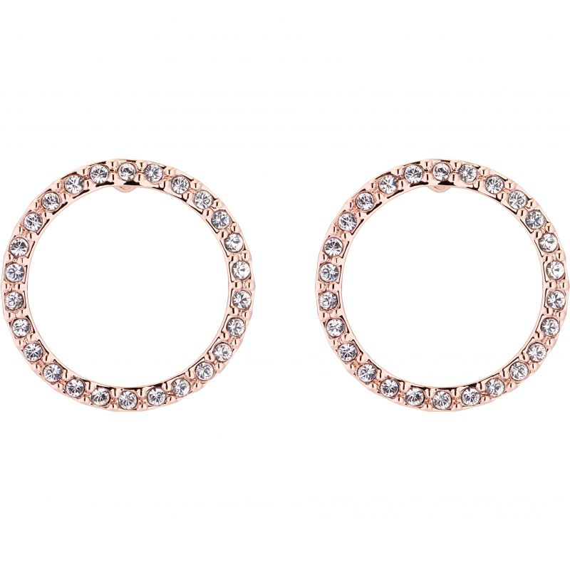 Ladies Ted Baker Leeza Luunar Pave Circle Earring TBJ2107-24-02