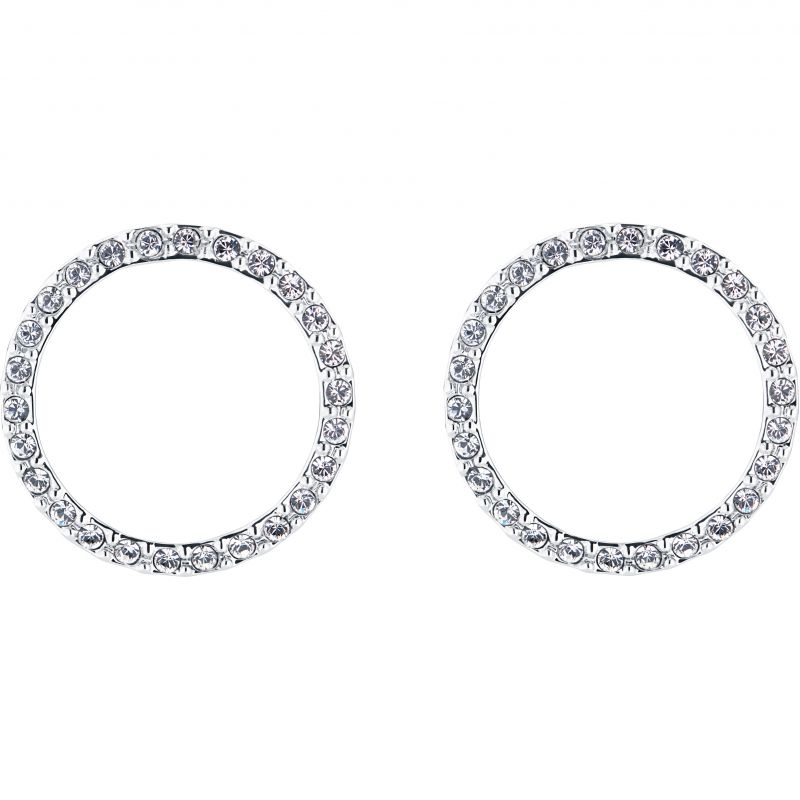 Ladies Ted Baker Leeza Luunar Pave Circle Earring TBJ2107-01-02