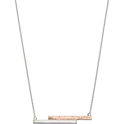 Biżuteria Fiorelli Jewellery Hammered Effect Necklace N4267