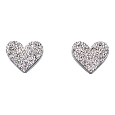 Biżuteria Fiorelli Jewellery Heart With Earrings E5646C