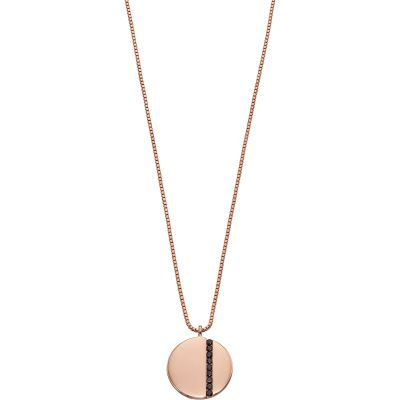 Fiorelli Silver Tiny  Baguette Necklace N4271B