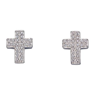 Biżuteria Fiorelli Jewellery Cross Earrings E5650C