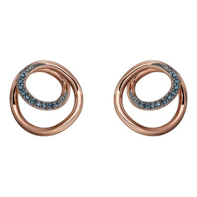 Biżuteria Fiorelli Jewellery Spiral Earrings E5658L