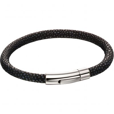 Biżuteria Fred Bennett Leather Textured Bracelet B5136