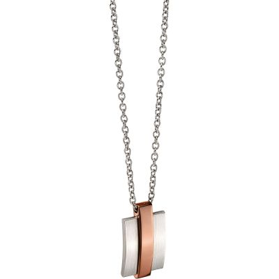 Fred Bennett Steel Necklace Rostfritt stål N4279