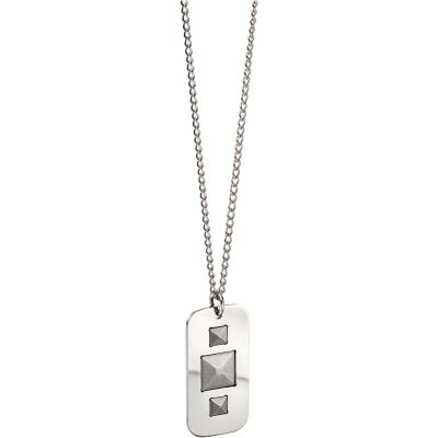 Fred Bennett Dog Tag Necklace Rostfritt stål P4664