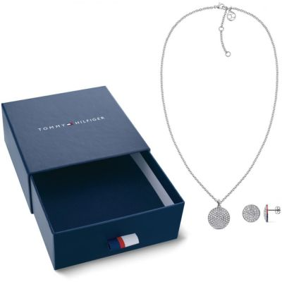 Biżuteria damska Tommy Hilfiger Jewellery Necklace & Earrings Gift Set 2770048