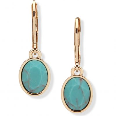 Biżuteria damska Anne Klein Jewellery Oval Drop Earrings 60516925-H46