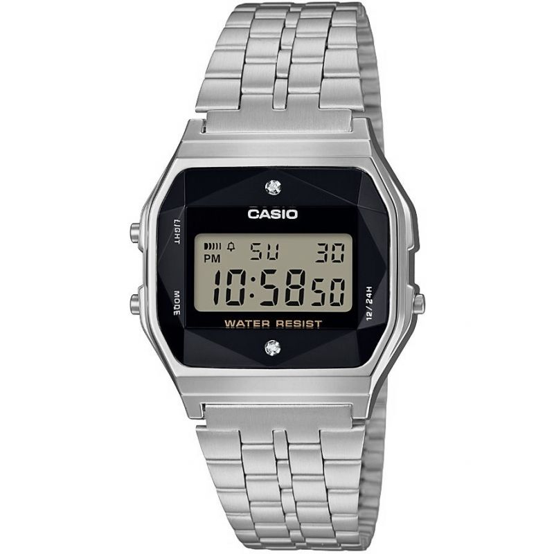 Casio Retro Diamond Watch A158WEAD-1EF