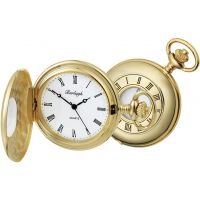 Burleigh Quartz Pocket Watch With Albert