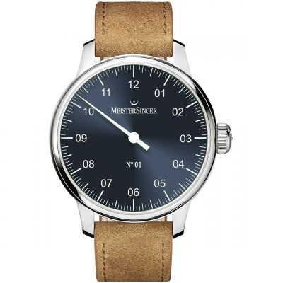 Meistersinger No 01 40mm Herenhorloge DM317