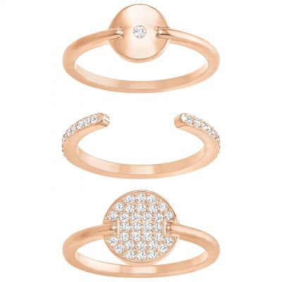 Swarovski Ginger Ring Set Size 58 5284081