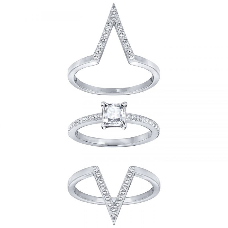 Swarovski Funk Ring Set Size 55 5241270