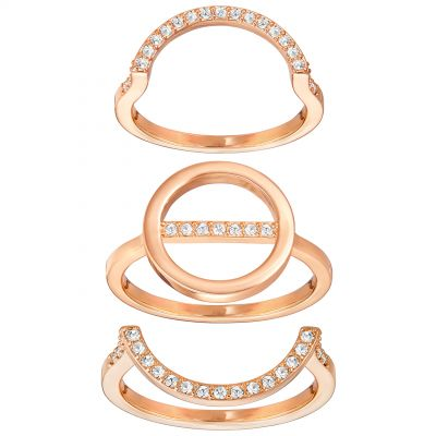 Swarovski Dam Flash Ring Set Size 55 5240789