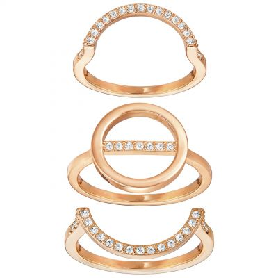 Swarovski Dam Flash Ring Set Size 58 5257452