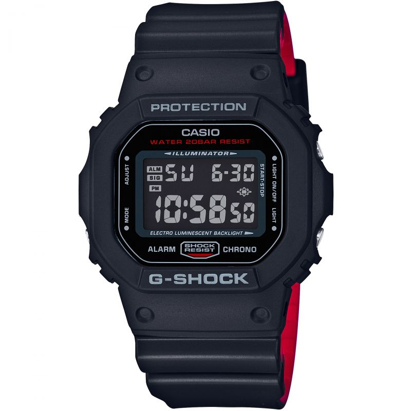 Casio G-Shock Gorillaz Remix Chronograph Watch DW-5600HRGRZ-1ER for £68.38