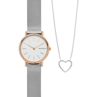 Skagen Signature Gift Set  Watch SKW1106