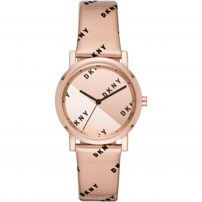 DKNY Soho Dameshorloge Rose Gold NY2804