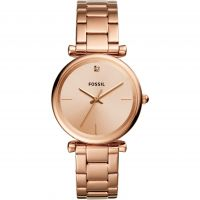 Fossil Carlie Dameshorloge Rose Gold ES4441