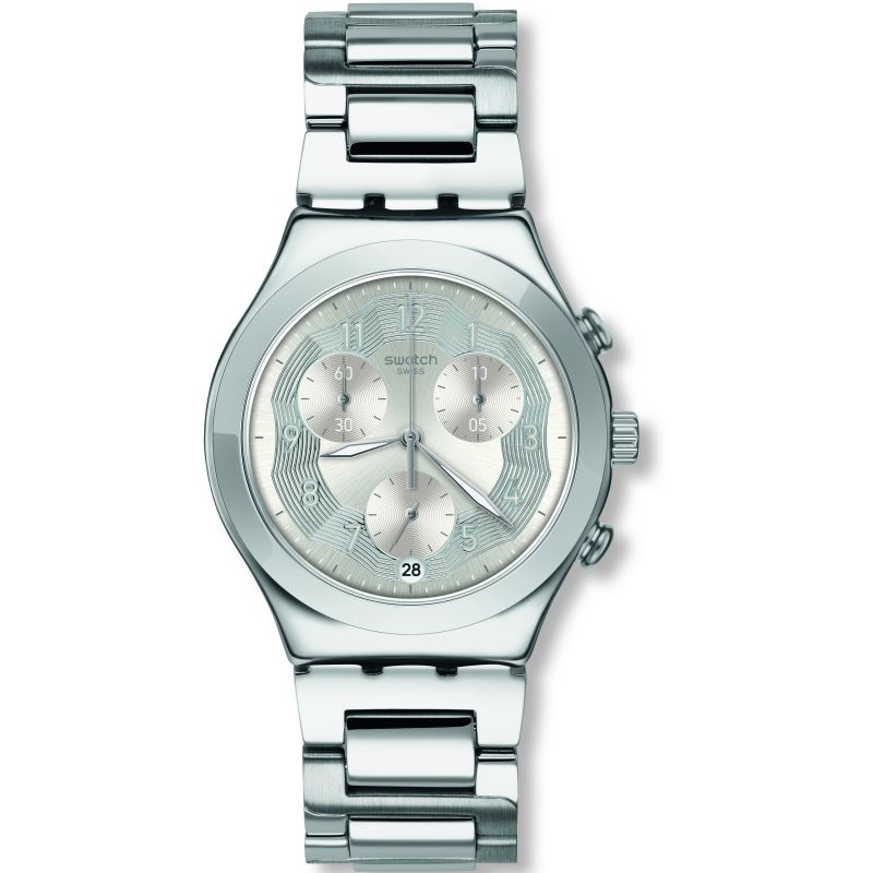 Swatch Silver Ring Watch