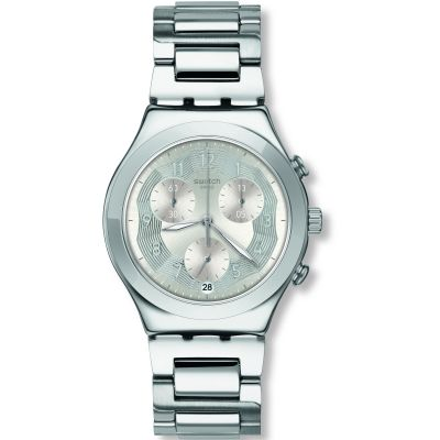 Swatch Silver Ring Watch YCS604G