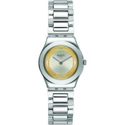 Swatch Irony Golden Ring Damklocka Silver YSS328G
