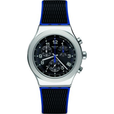 Swatch Irony Secret Mission Herrklocka Svart YVS451