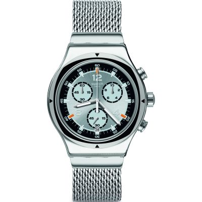 Swatch Irony Tv Time (Small) Herrklocka Silver YVS453MB