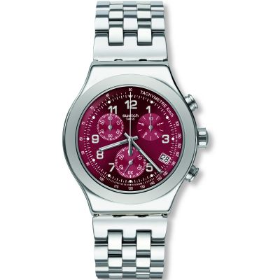 Swatch Irony Secret Doc Herrklocka Silver YVS456G