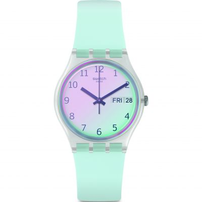 Swatch Transformation Ultraciel Dameshorloge Blauw GE713