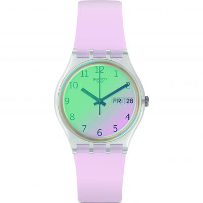 Swatch Transformation Ultrarose Damklocka Rosa GE714