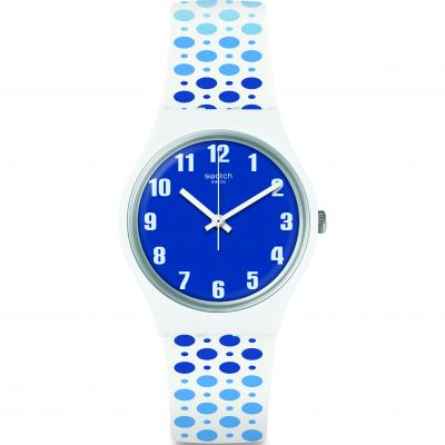 Swatch Transformation Paveblue Unisex horloge Tweetonig GW201