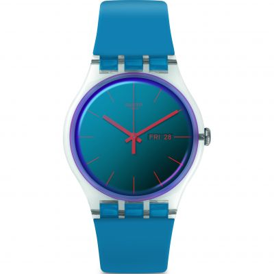 Swatch Transformation Polablue Unisex horloge Blauw SUOK711