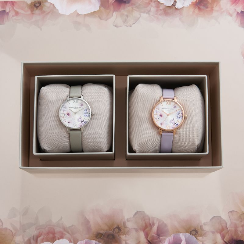 Olivia Burton Dual Watch Sunlight Floral Giftset OB16GSET30 for £169