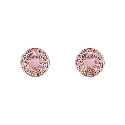 Ladies Ted Baker Brenaa Biscuit Button Stud Earring TBJ1996-24-134
