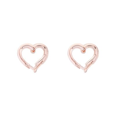 Ladies Ted Baker Lornaa Layered Heart Stud Earring TBJ2046-24-03