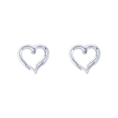 Ladies Ted Baker Lornaa Layered Heart Stud Earring TBJ2046-01-03