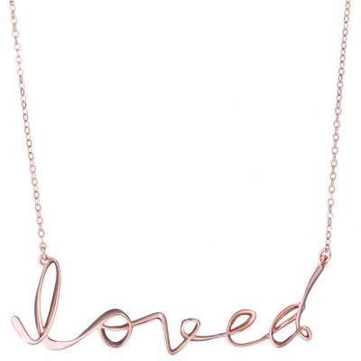 Biżuteria damska Ted Baker Jewellery Larna: Loved Script Necklace TBJ2049-24-03