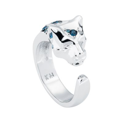 Ladies Karen Millen Leopard Ring ML KMJ1275-01-14ML