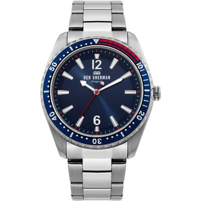 Ben Sherman London Herenhorloge Zilver WB037USM