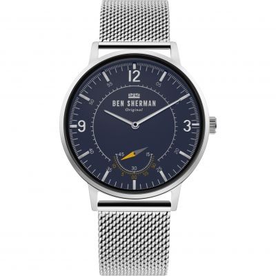 Ben Sherman London Herenhorloge Zilver WB034USM