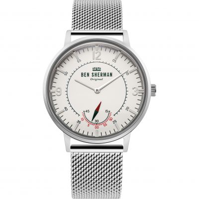 Ben Sherman London Herenhorloge Zilver WB034SM