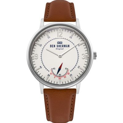 Ben Sherman London Herrklocka Brun WB034T