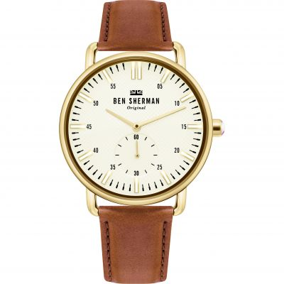 Ben Sherman London Herrklocka Brun WB033TG