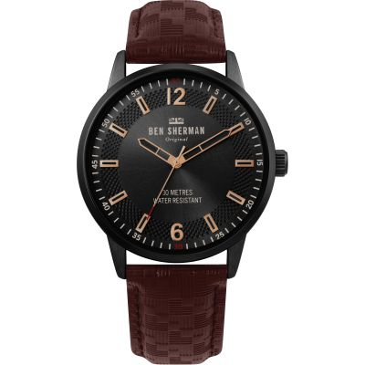Ben Sherman London Herenhorloge Bruin WB029TB