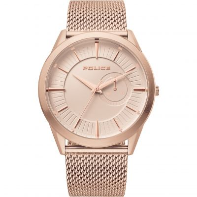 Police Helder Herenhorloge Rose Gold 15919JSR/32MM